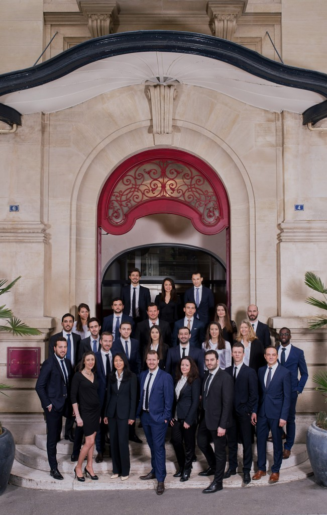 Photo de groupe Corporate par photographe pro Paris © Sacha Lenormand